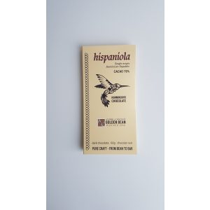 Hummingbird Chocolate Hispaniola single origin dark chocolate bar