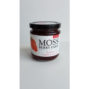 Moss Berry Farm pure strawberry jam made in Ontario
