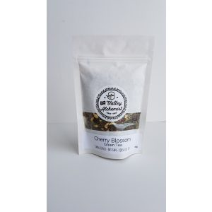 The Valley Alchemist small batch loose leaf Cherry Blossom green tea